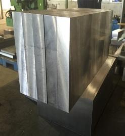 Die steel milling plate